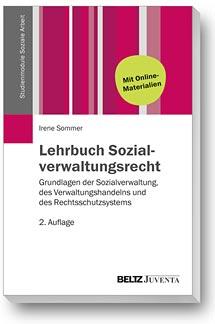 Buchcover Lehrbuch Sozialverwaltungsrecht von Irene Sommer, Rechtsanwältin in Berlin-Spandau